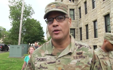 Rock Island Arsenal personnel conduct suicide awareness walk