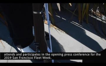 NRD San Francisco Color Guard at Fleet Week