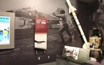 B-roll footage of new Vietnam War Exhibit