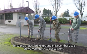 Portland Air National Guard Base Installs New Main Gate