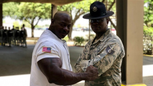 Chef Rush visit to JBSA-Lackland