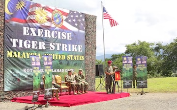 11th MEU and Malaysian armed forces participate in exercise Tiger Strike 2019