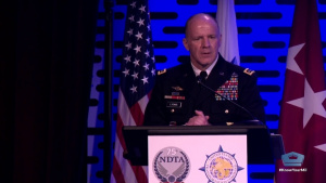 Transcom Commander Gives Keynote Speech