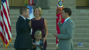 Defense Secretary Swears in Secretary of Army