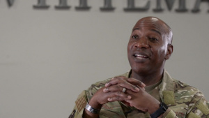Interview with Chief Master Sergeant of the Air Force Kaleth O. Wright