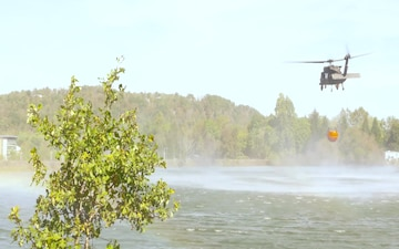 W.Va. Guard helicopter crews train for wildland fires, drought season