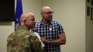 Airmen Recognized for Bravery