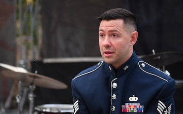 USAFE Jazz Band in Ukraine - Interview with SSgt Benjamin Thomas