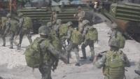 KAMANDAG 3 amphibious landing