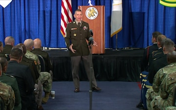 AUSA Day 1 - Sergeant Major of the Army (SMA) Conference