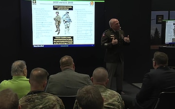 2019 AUSA Warriors Corner - Developing Leaders for Multi-DomainOperations