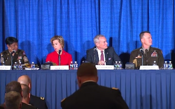AUSA Day 1 - CMF #2 - AUSA ILW Contemporary Military Forum: The Army is People