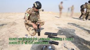 Mortars testing