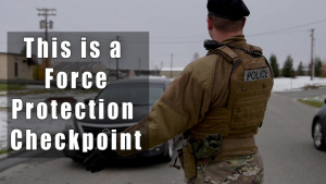 354th Security Forces Squadron Force Protection Checkpoints