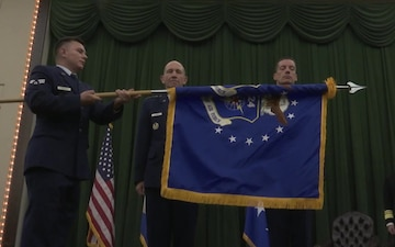 Haugh assumes command of new Information Warfare NAF