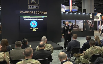 2019 AUSA Warriors Corner - MDO Theory into Practice:Year of Lessons (USARPAC)