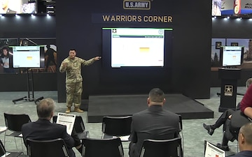 2019 AUSA Warriors Corner - Leader VisibilityTools: Equipping Today's Commanders (SR2, G-1)