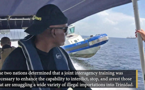 CBP conducts maritime training for Trinidad and Tobago Customs and Excise Officers
