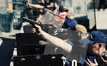 Coast Guard wins San Francisco Fleet Week Marksmanship Competition