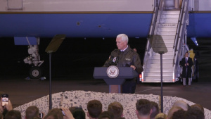 Vice President Mike Pence Visits Ramstein
