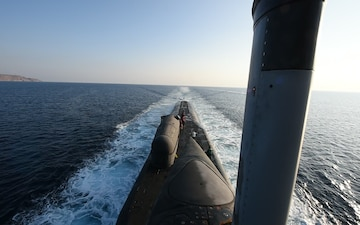 Ohio-class guided-missile submarine USS Florida (SSGN 728)