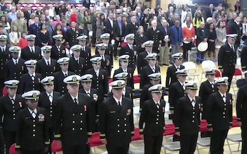 Navy Officer Development School (ODS) Graduation