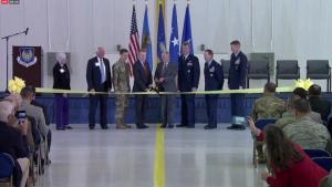 Tinker AFB KC-46 Maintenance Facility Ribbon Cutting Ceremony