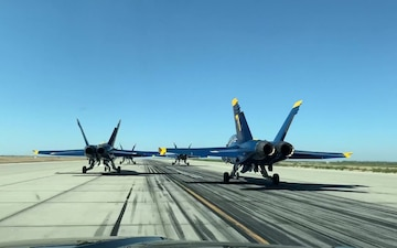 Blue Angels at NAS Lemoore