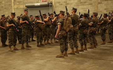 Marine Corps Logistics Command's response to Hurricane Dorian