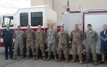 171st ARW Guardsmen Send a Shout Out for the Pittsburgh Penguins
