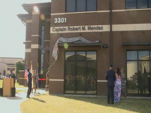 Captain Robert M. Mendez Building Dedication