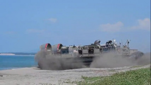 USS John P. Murtha (LPD 26) landing craft air cushion operations Part 1 of 3