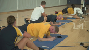 Sailors Participate in New Physical Readiness Test Events