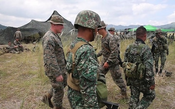 US, Philippine Marines share infantry tactics, procedures during KAMANDAG 3 (B-Roll)