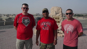 Lt Col Tony Edwards New Mexico Lobos Shout Out