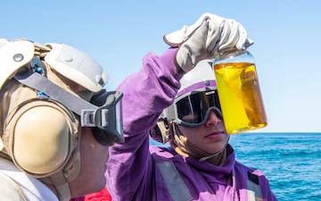 DCFN Battle Flight Deck Crash and Salvage Aboard USS Milius