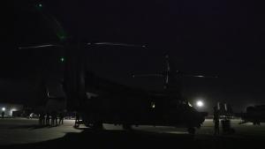 CV-22B Osprey tiltrotor aircraft