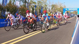 Women's cycling road race, CISM Military World Games