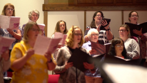 Airman Fay Choir Practice B-Roll