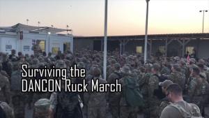 Surviving the DANCON Ruck March