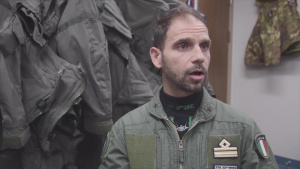 Italian Air Force conducts NATO air policing over Iceland - Interviews