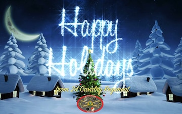2CR's command team shares holiday message