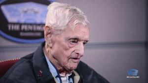 100-year-old Sentinel Visits Pentagon