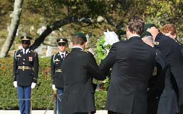 John F. Kennedy Wreath Laying
