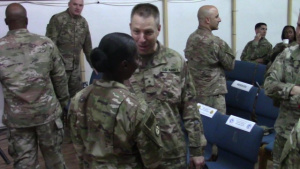 77th Sustainment Brigade's DCO Promotion to Colonel