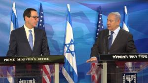 Secretary Mnuchin, Israeli PM Netanyahu Deliver Statements to Press at PMO October 28, 2019