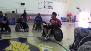 Murderball comes to Edwards during NDEAM