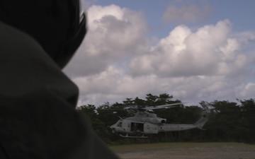 *B-Roll* Marines conduct rapid deployment operation