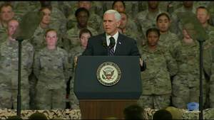 Vice President Pence Visits Troops in Texas