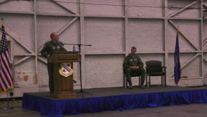 356th FS Assumption of Command: Lt. Col. James Christensen